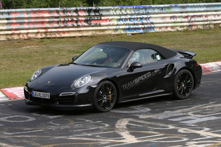 Spy Pictures Porsche S 911 Turbo S Cabriolet Burntech