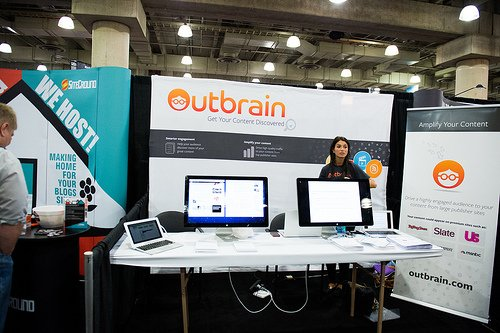 Outbrain at BlogWorld & New Media Expo