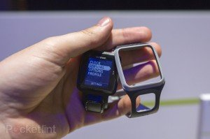 The TomTom Multi-Sport features a detachable cover (picture credit, Pocket-Lint)