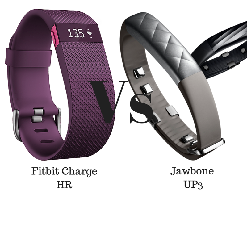 Fitbit Charge Hr Vs Jawbone Up3 Head To Head Review